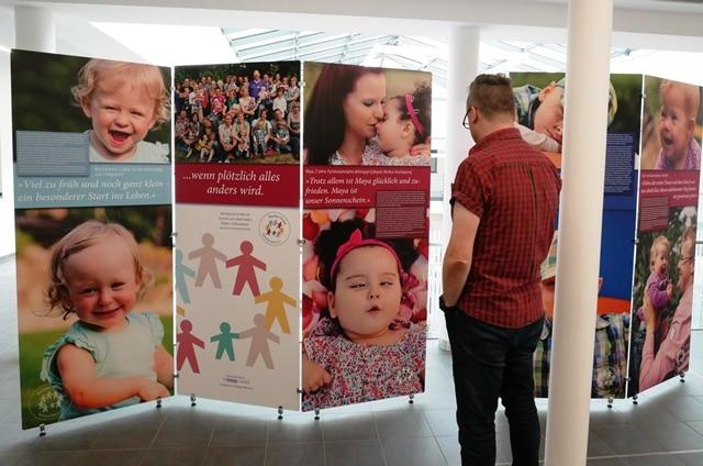 Christophorus-Kliniken Duelmen Ausstellung Bunter Kreis