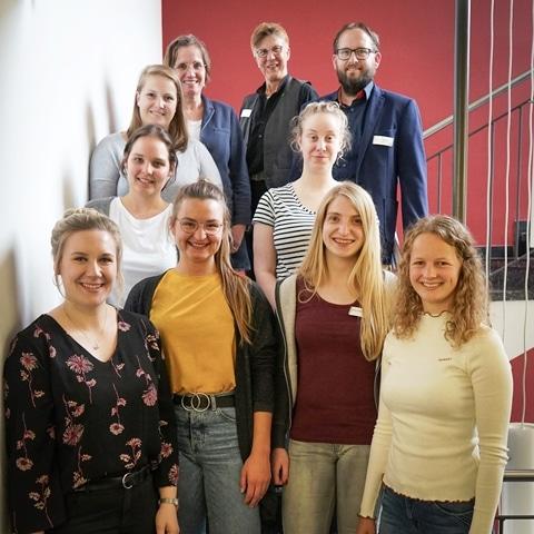 Christophorus-Kliniken Auszubildende wurden verabschiedet zehn verschiedene Ausbildungsberufe