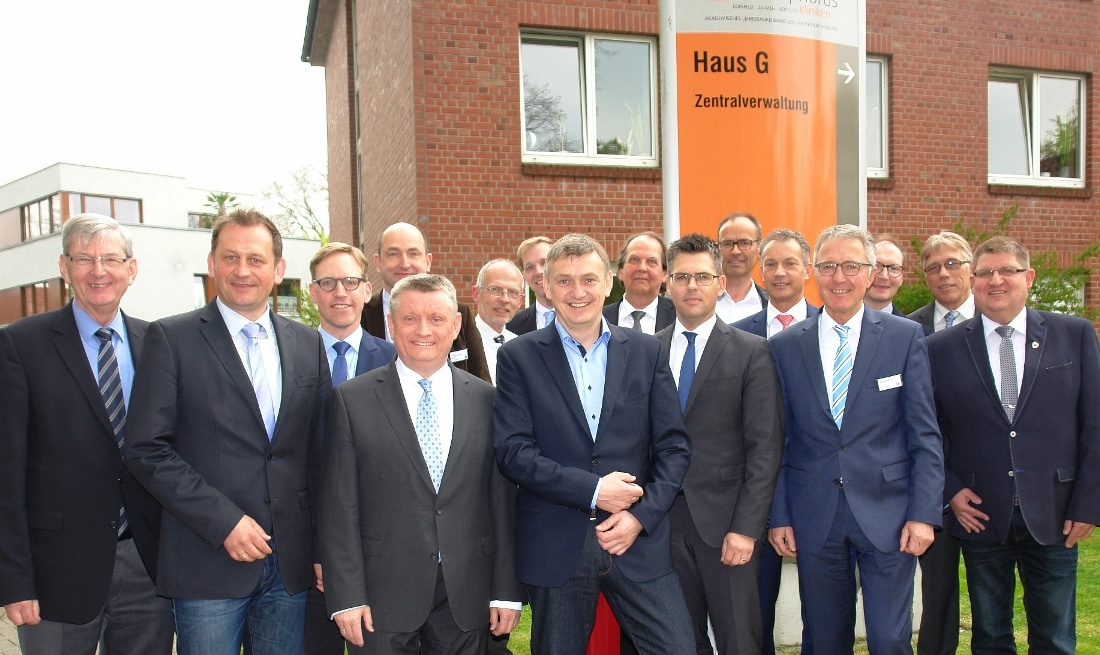 Besuch Minister Hermann Groehe in den Christophorus-Kliniken am 21.04.2017