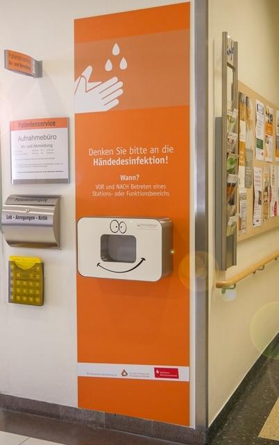 Christophorus Kliniken Foerderverein sucht Spender fuer Desinfektionsgeraete