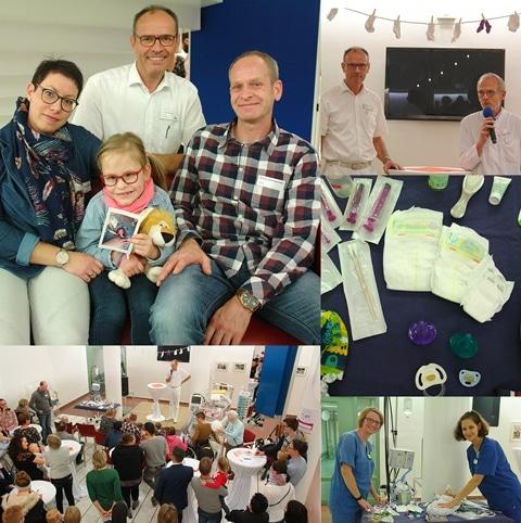 Christophorus-Kliniken Welt-Frühgeborenen-Tag in Coesfeld Dr. Gerleve