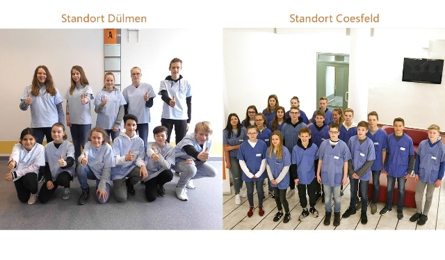 Christophorus-Kliniken Girls and Boys Day Einblick in den Krankenhausalltag