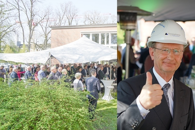 Christophorus Traegergesellschaft Verabschiedung vom Technischen Leiter Klaus Krais in den Ruhestand