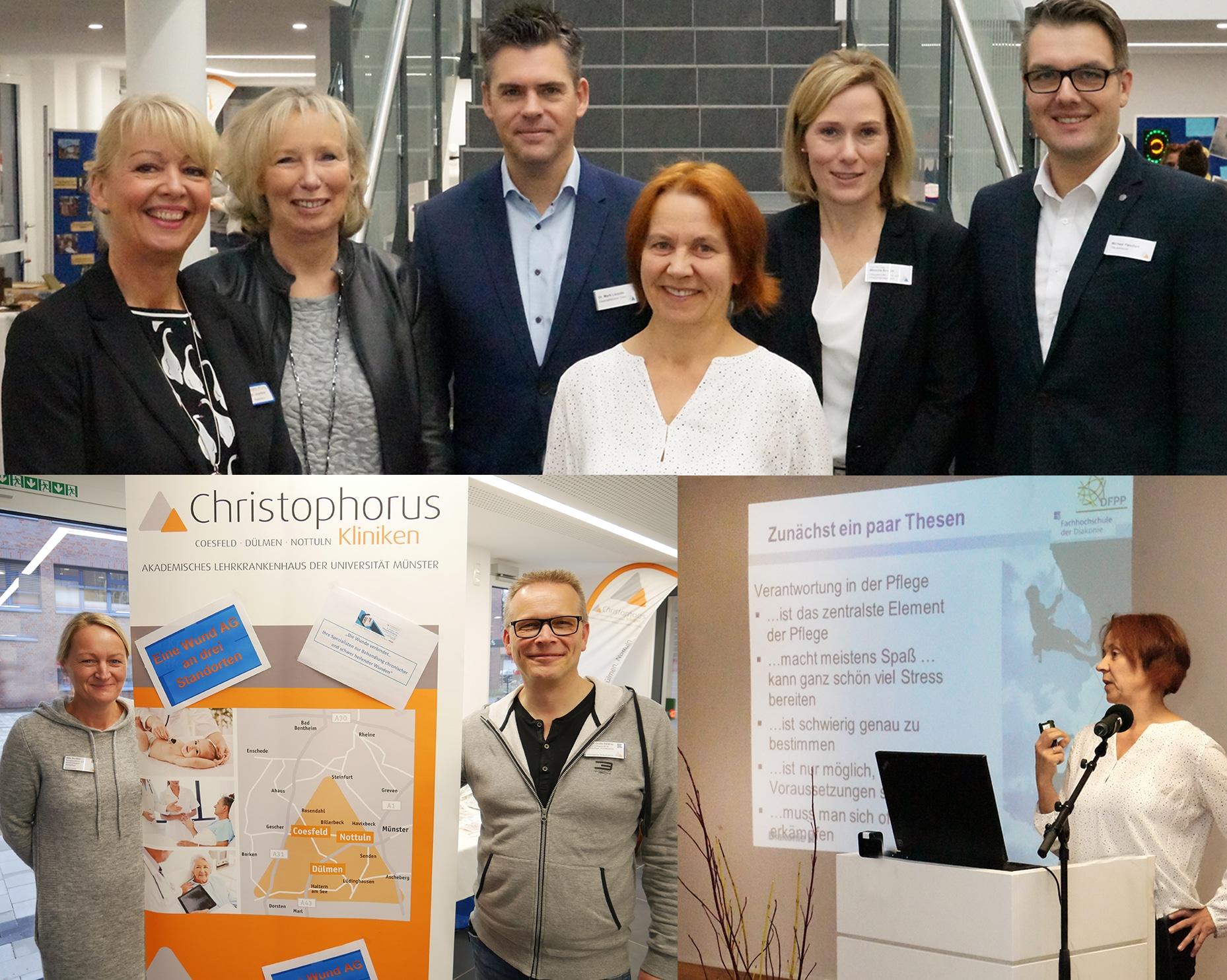 Christophorus Traegergesellschaft Pflegefachtagung Pflegexperten schulten Pflegende Fuelle an Kompetenzen unter einem Dach