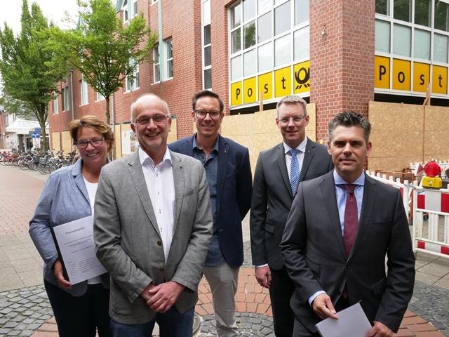 Christophorus-Kliniken Schule fuer Gesundheitsberufe Fusion mit Caritas Altenpflegeseminar Einzug in Alte Post Coesfeld