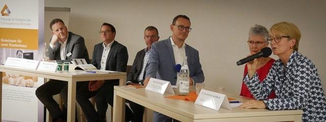 Christophorus-Kliniken Foerderverein Infoabend Patientenverfuegung Vollsorgevollmacht