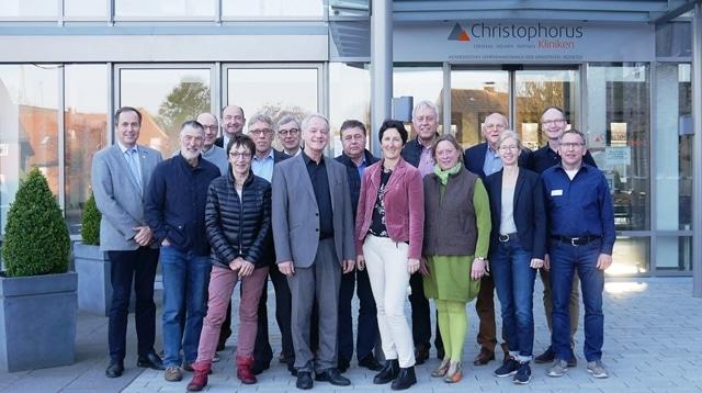 Christophorus Kliniken Foerderverein Mitgliederversammlung Maßnahmen mit Mehrwert