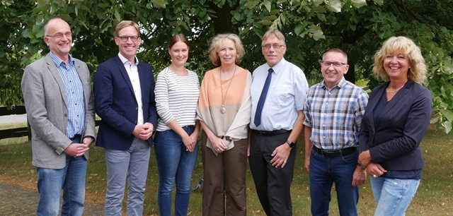 Christophorus-Kliniken Schule fuer Gesundheitsberufe Besuch Bundestagsabgeordneter MArc Henrichmann