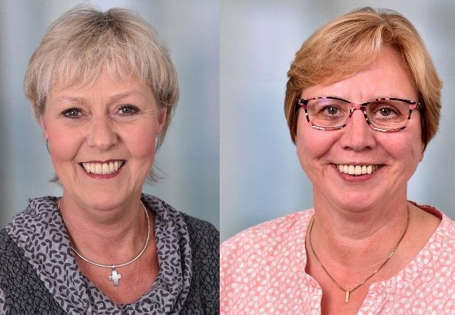 Christophorus-Kliniken neue Seelsorger in Coesfeld Anne Luerweg Christel Seibert und_Duelmen