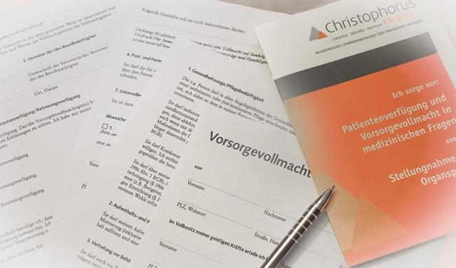 Chirstophorus Kliniken Foerderverein Infoabend Patientenverfuegung Vorsorgevollmacht