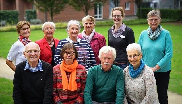 Christophorus-Kliniken Patientenbegleiter feiern 10 Jahre Bestehen Kollegen gesucht