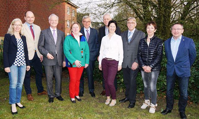 Christophorus-Kliniken Foerderverein Neuer Vorstand