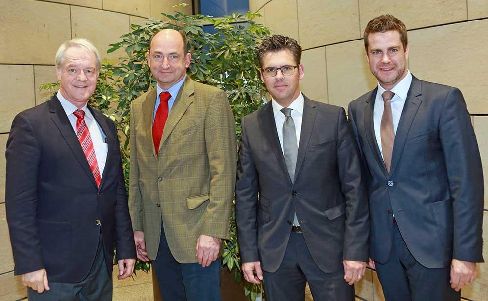 Besuch von Dr. Krings im Landtag