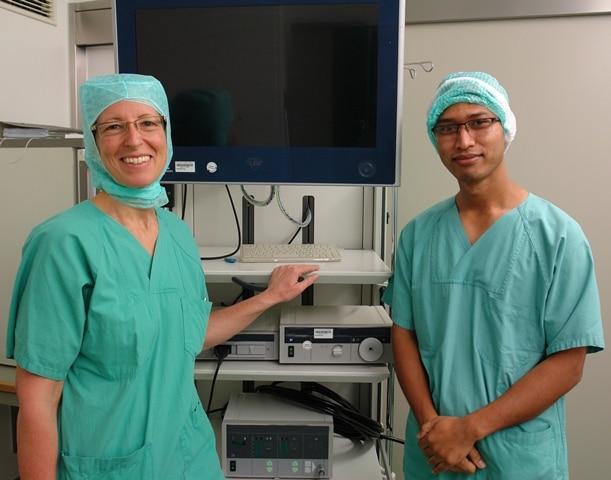 Christophorus-Kliniken Gastarzt Hospitation Frauenklinik