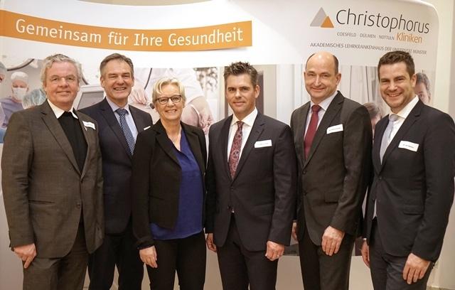 Christophorus-Kliniken Neujahrsempfang MdB MAria Klein Schmeink regionale Gesundheitsversorgung