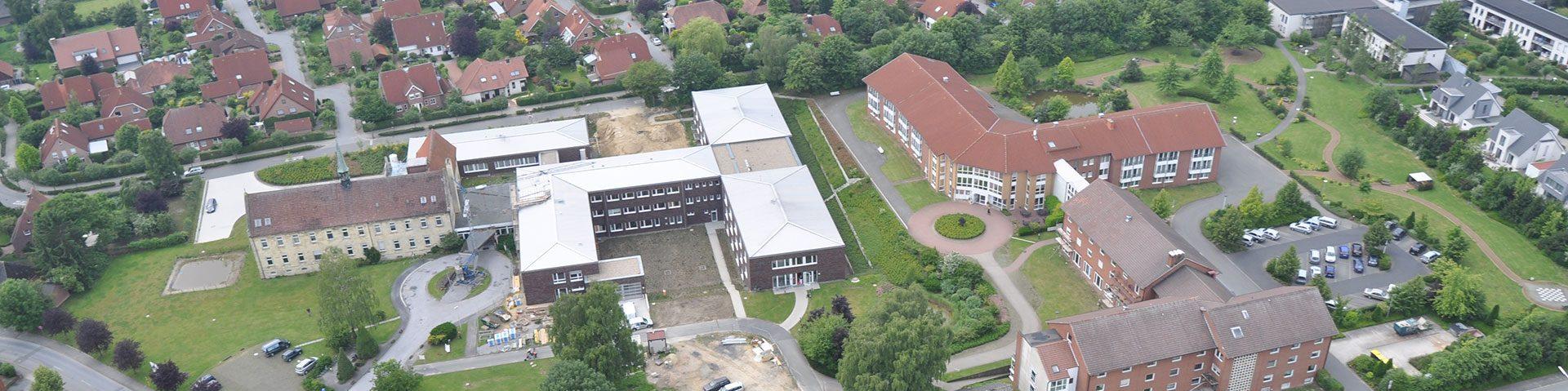 Luftaufnahme Christophorus Klinik